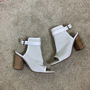 Sam Edelman laser cut sling back heels